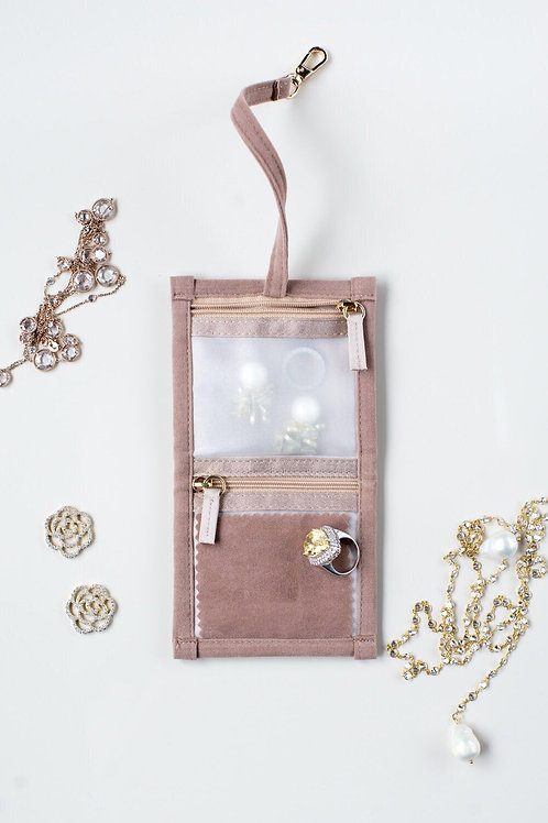 Jewellery Pouch - Small (Beige)