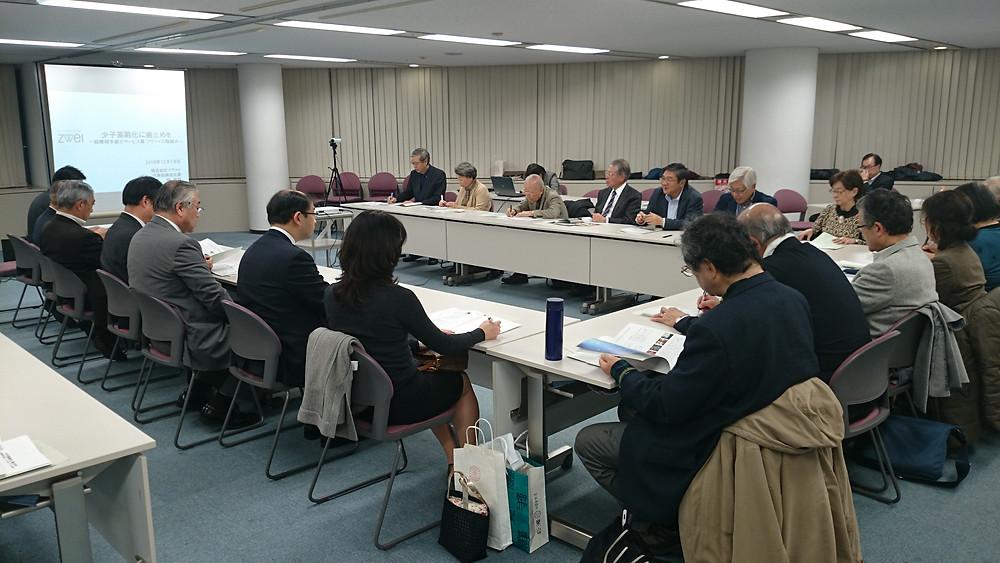日本賢人会議所 月曜セミナー ㈱ツヴァイ縣厚伸社長の講演