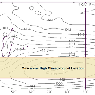 """Climatology of the Mascarene High and Its Influence on Weather and Climate over Southern Africa"""