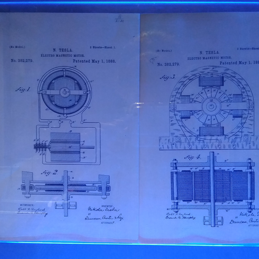 One of Tesla's patents