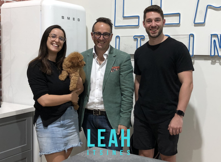 """Leah & Mitch from """"LEAH ITSINES 