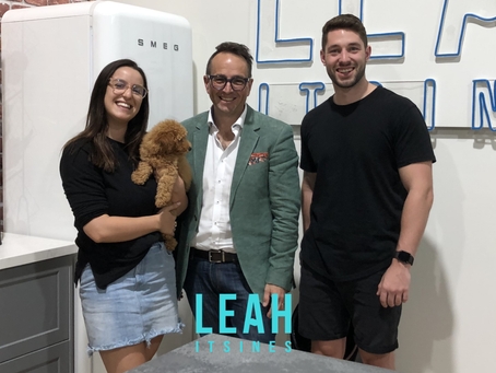 "Leah & Mitch from ""LEAH ITSINES 