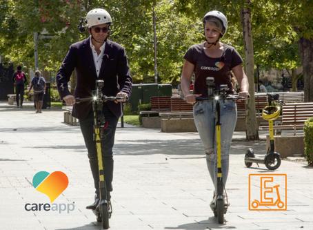 """Entrepreneurs on eScooters"" - Allison Nikula from CareApp"