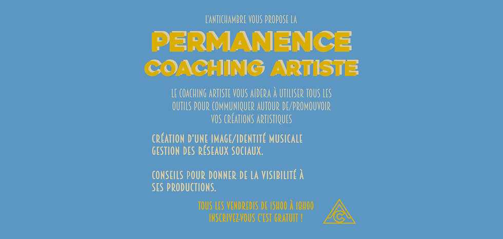 FLY ATELIER SITE PERMANENCE COACHING ART