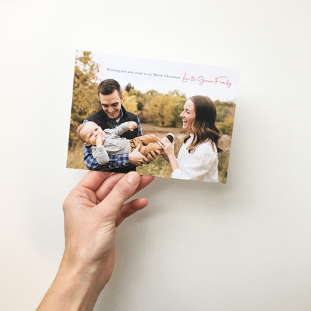 Holiday Cards (Hey! That's me!)