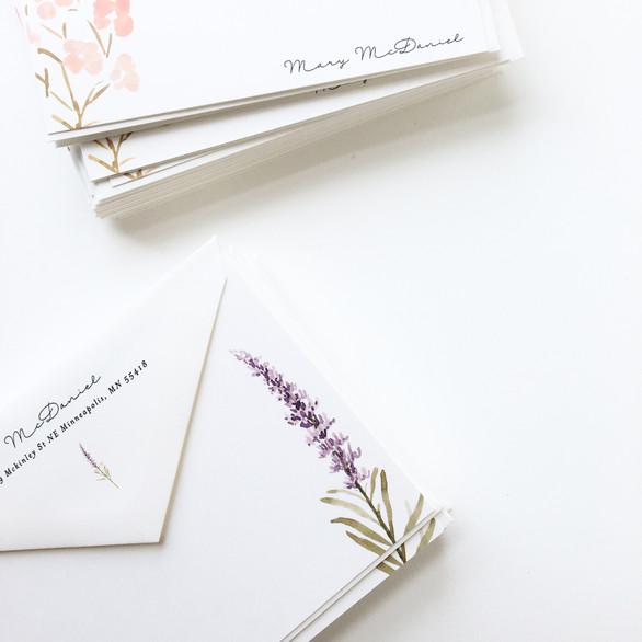 Notecard + Custom Envelope Printing
