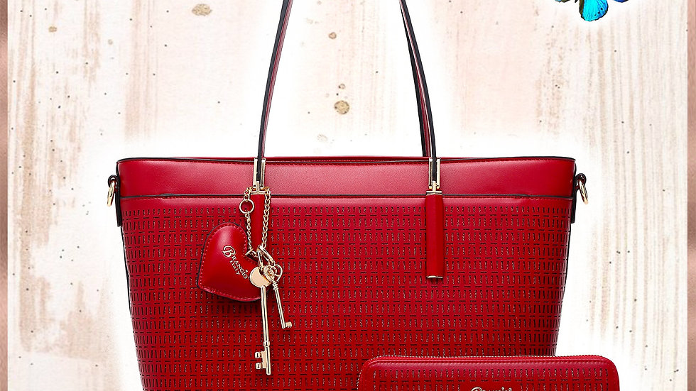 Sacred Love Crystal Handmade Fashion Tote Bag (Bag Only)