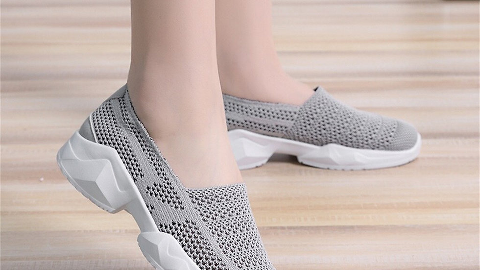 Casual Sneakers Fashion Couple's Breathable Hollow Mesh Shoes Lightweight Soft