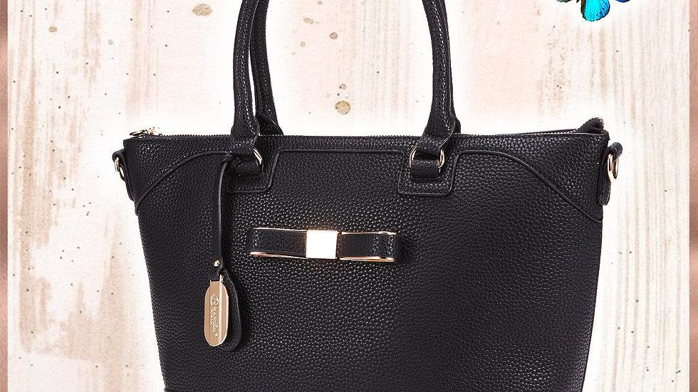 Desert Bow Minimalist Fashion Purse + Matching Wallet Set