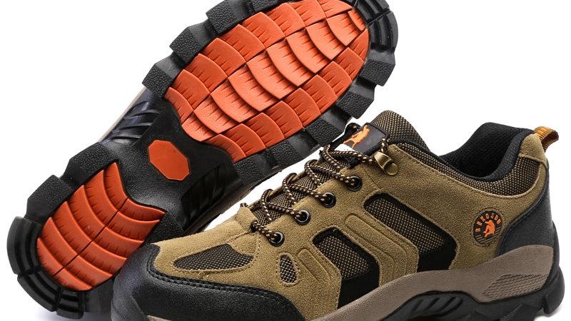 Hiking Shoes Non-Slip Wear Sneakers Men Lace Up Trekking Climbing Sports Shoes