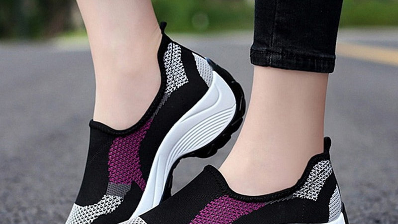 High Quality Slip on Vulcanized Shoes Women Sneakers Female Walking Shoes