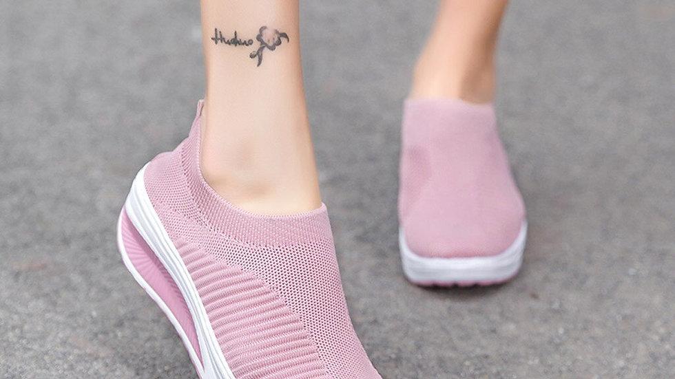 Shoes Women Casual Platform Fashion Women Mesh Casual Shoe soft comfortable