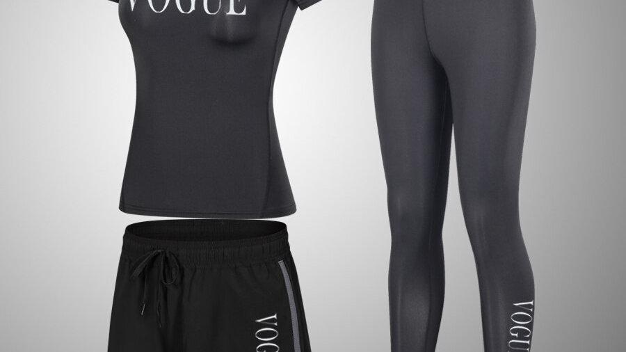 2/3pcs/Set Seamless Fitness Women Yoga Suit High Stretchy Workout Sport Set