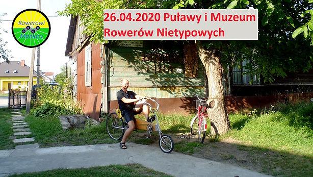 Wycieczka rowerowa Puławy Dęblin Gołąb