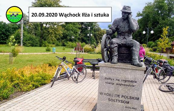 Wycieczka rowerowa Wąchock Iłża sztuka