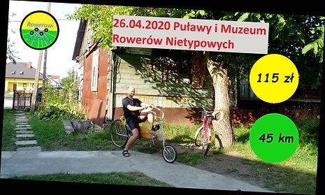 Muzeum Rowerów Nietypowych , Dęblin i Puławy