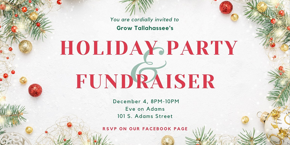 Holiday Party & Fundraiser