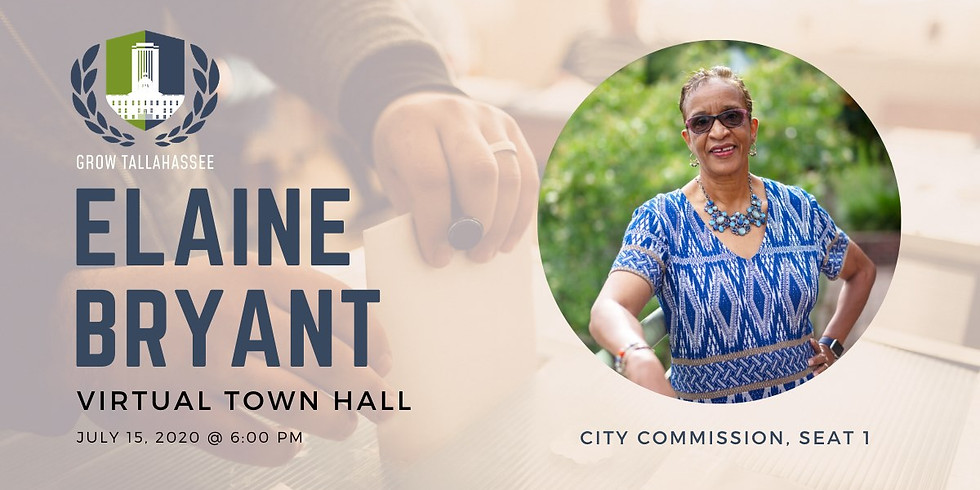 Virtual Town Hall with Elaine Bryant