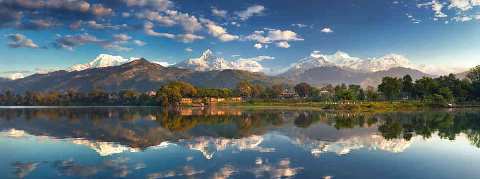 히말라야 페와호수   Himalaya Phewa Lake