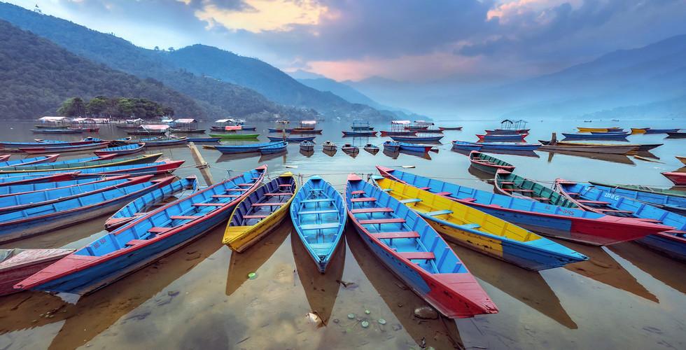 네팔 | 포카라 | 페와 호수
