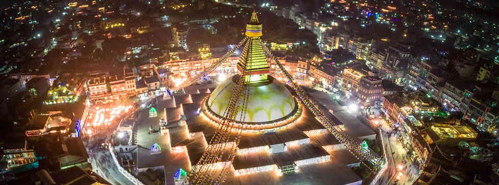 보오드나트 사원   Boudhanath Stupa