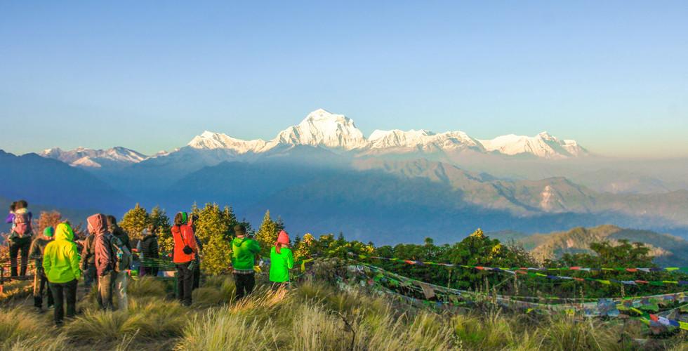 네팔 | 히말라야 | 푼힐 전망대 | 안나푸르나 트레킹