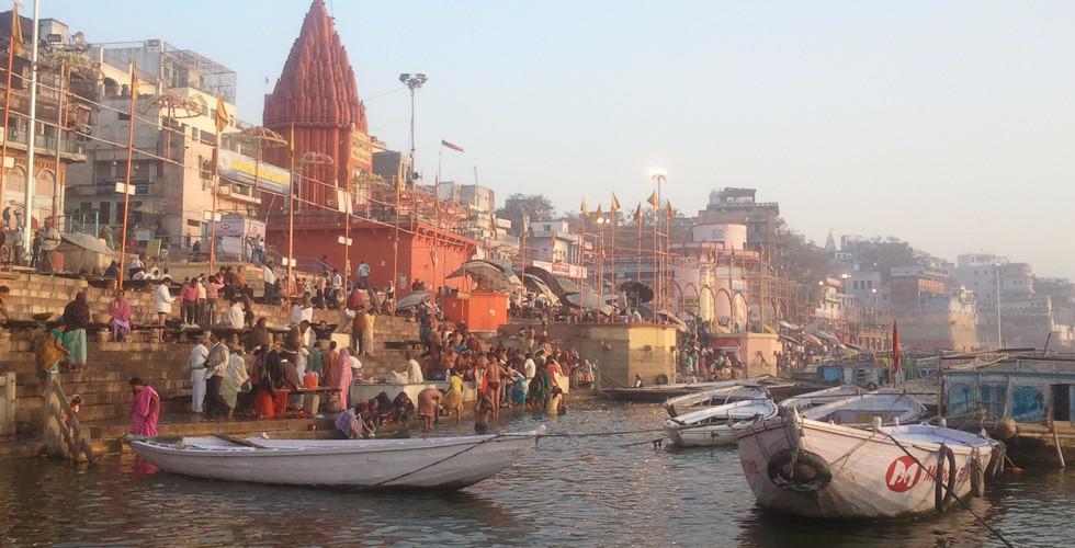 인도 | 바라나시 | 갠지스 강 | 일출