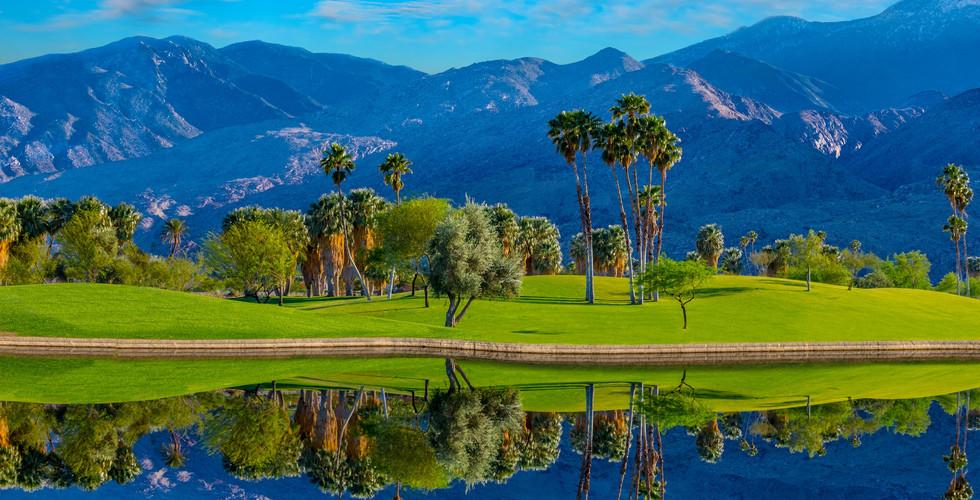 팜 스프링스(Palm Springs Golf Club) Riverside County, California, USA.
