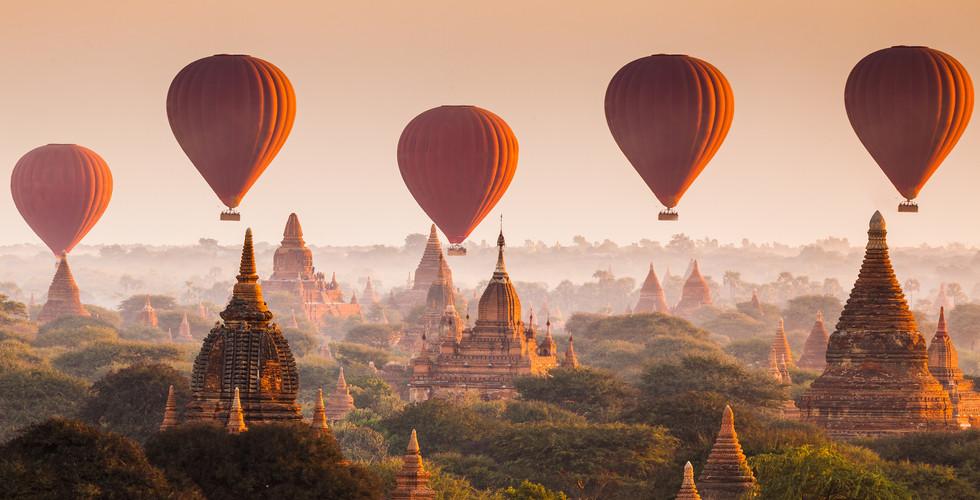 미얀마 | 파간 | 애드벌룬