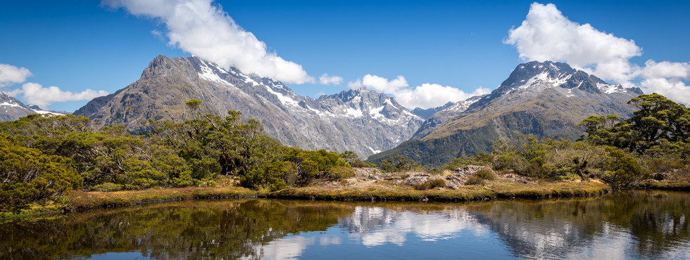 Key Summit milford - South Island New Ze