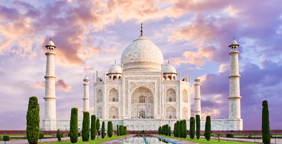 인도 | 아그라 | 타즈마할 | 건축물의 7대 불가사의