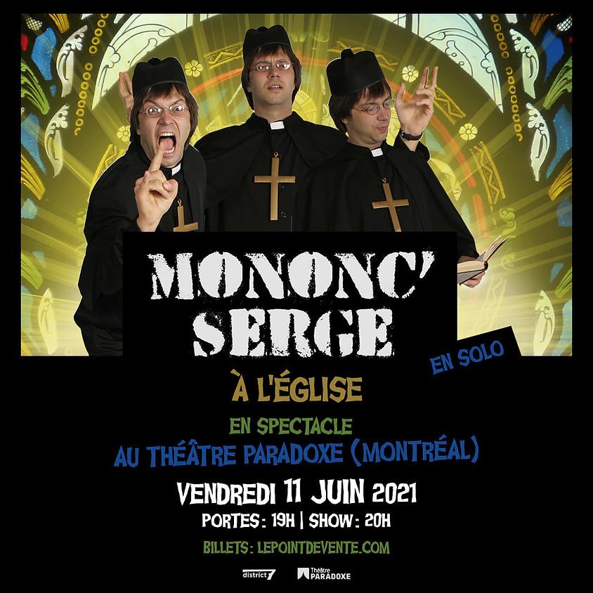 Mononc' Serge en spectacle solo à l'église