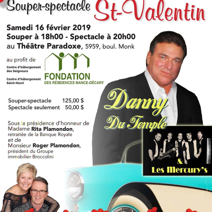 Souper-spectacle St-Valentin