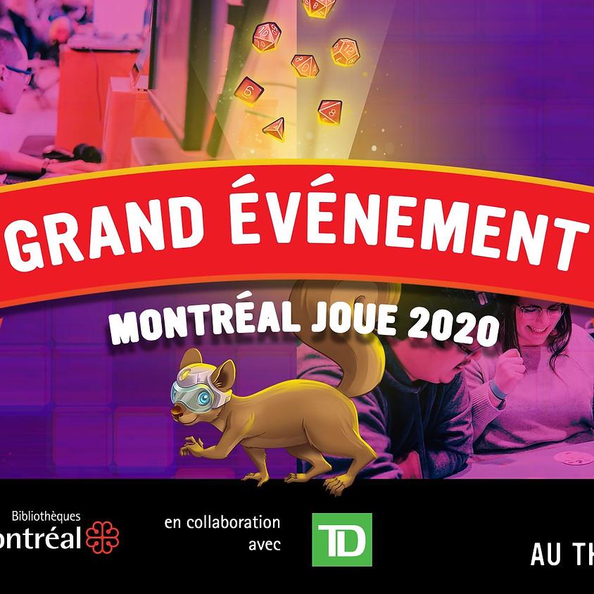 Festival Mtl Joue - Gratuit