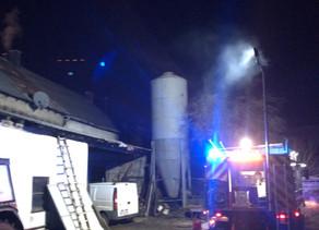 Brand - Wohnungsbrand Dachgeschoss