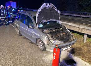 Verkehrsunfall H2 - PKW Unfall B51