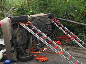Verkehrsunfall PKW innerorts