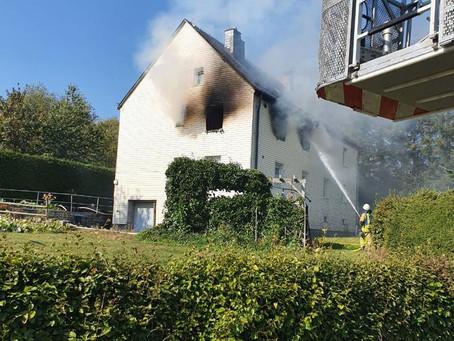 B3 Gebäudebrand - Wohnungsbrand
