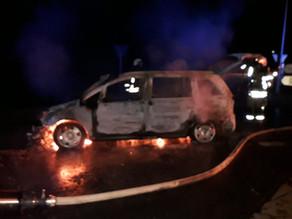 Fahrzeugbrand klein - L24