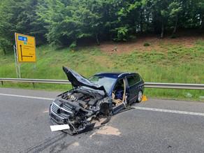Technische Hilfe  - Verkehrsunfall B51