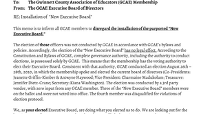 Memo to Our Membership...