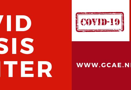 GCAE's COVID Crisis Center