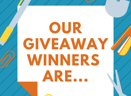 Our Giveaway Winners Are...
