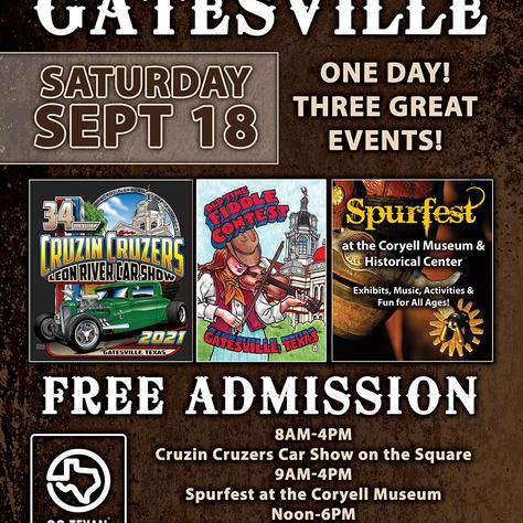 Spurfest/Car Show/Fiddle Contest