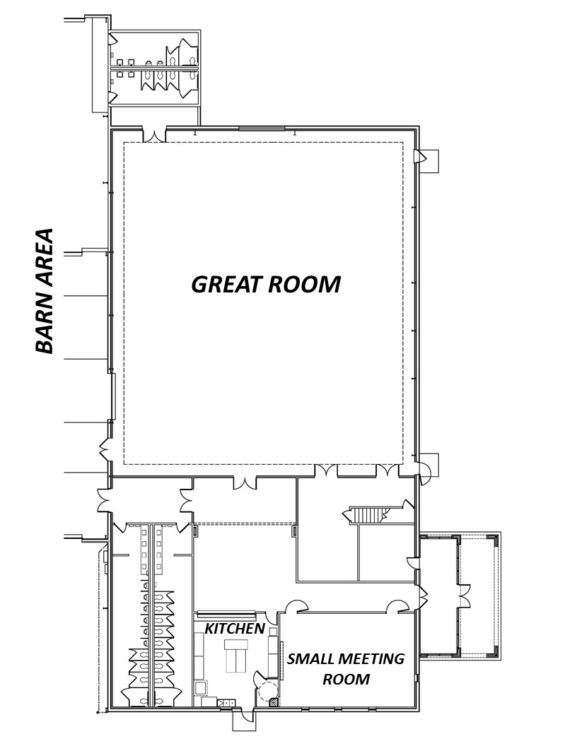 Civic Center Floor Plan