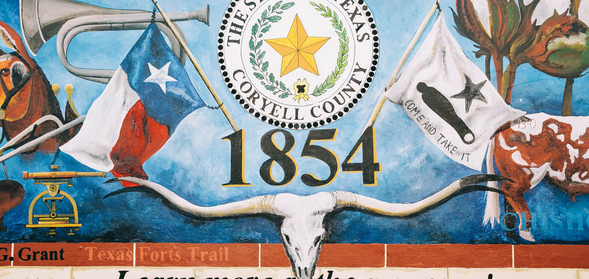 The Seal of Coryell County