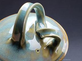 Tea Pot Lid Close-up