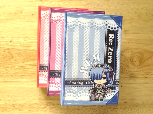 Re Zero: Journal Covered Spine