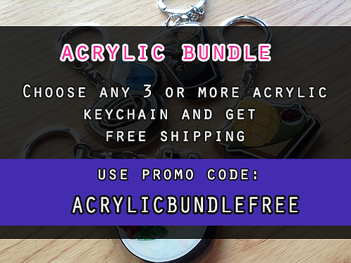 Acrylic bundle
