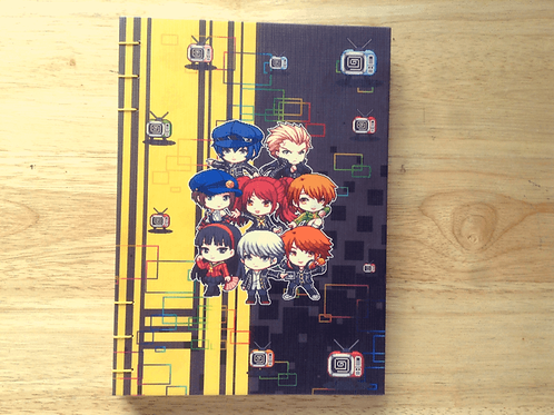 Persona 4 Journal (A6/A5 size)